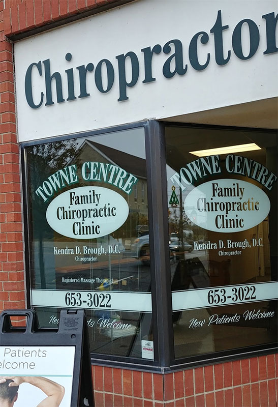 Dr  Kendra Brough Towne Centre Chiropractic Clinic Cambridge